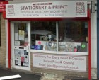 Our shop in Chapeltown, Sheffield S3 2XE - for Stationery and Geological Equipment